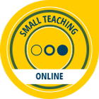 small teaching online badge