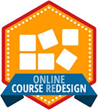 Online course redesign