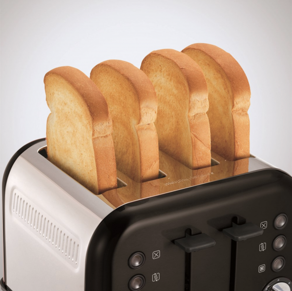 Toaster Turns Bread to Toast