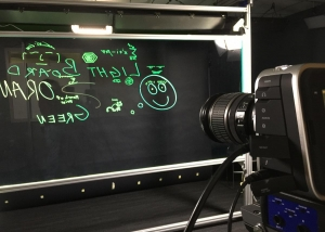 picture of the University of Kentucky Lightboard