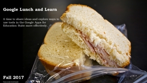 Google Lunch and Learn
