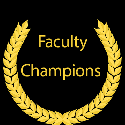 Faculty Champions Logo