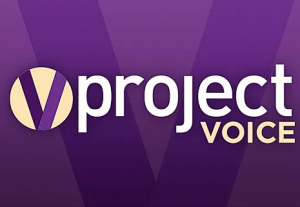 project voice logo